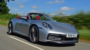 Porsche 911 Cabriolet - front