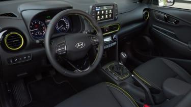 Hyundai Kona Premium SE 2017 - interior empty