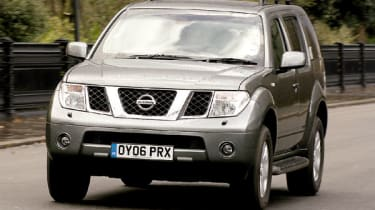 Despite large dimensions, Pathfinder is easy to maneouvre and returns more than 30mpg