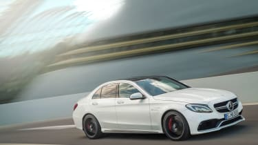 Mercedes-AMG C63 S - driving