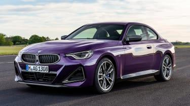 BMW M240i - front static