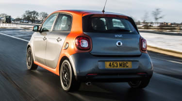Used Smart ForFour - rear tracking