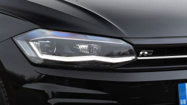 vw polo r-line headlight