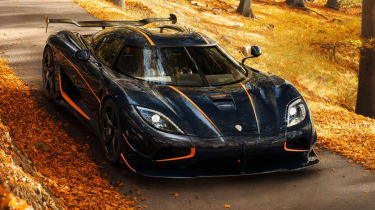 Fastest production cars in the world - Koenigsegg Agera RS