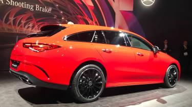 Mercedes CLA Shooting Brake - Geneva rear