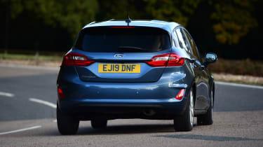 Ford Fiesta - rear cornering