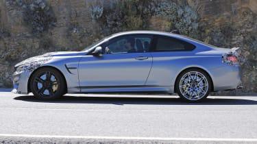 BMW M4 2017 spy shot 7