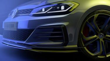Volkswagen Golf GTI TCR - front detail sketch