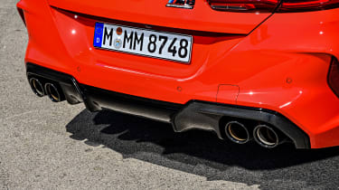 BMW M8 - rear detail