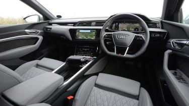 Audi e-tron S - cabin