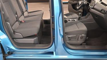 2020 Volkswagen Caddy - seats
