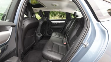 Volvo S90 long term test first report - rear seats