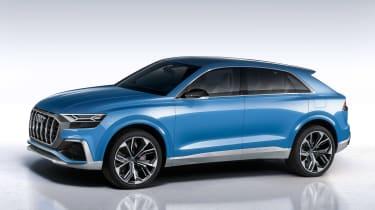 Audi Q8 SUV - front