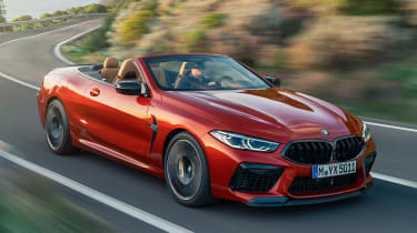 BMW M8 Competition Convertible - front