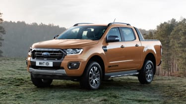 Ford Ranger Wildtrack - front static