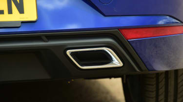 SEAT Ibiza - exhaust