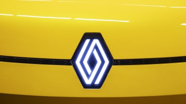 New Renault logo shown on electric Renault 5 concept