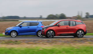 BMW i3 vs Suzuki Swift Sport