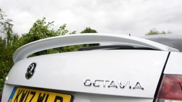 Skoda Octavia vRS 245 - rear detail