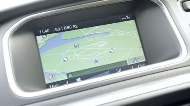 Volvo V40 rear screen