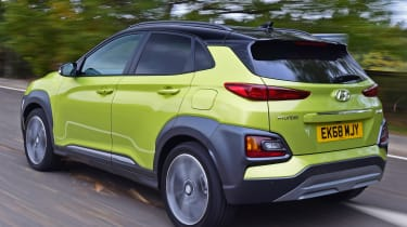 hyundai kona tracking rear