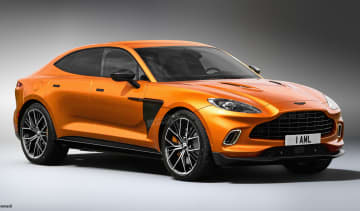 Aston Martin DBX Coupe - exclusive image