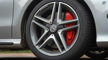 Mercedes CLA 45 AMG 2013 wheel
