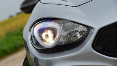 Abarth 124 GT - headlight