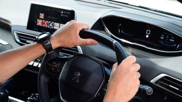 Peugeot 3008 - steering wheel