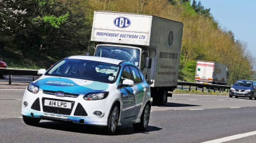 Autogas Ford Focus - motorway
