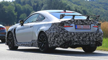 Lexus RC F GT - rear