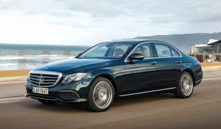 Mercedes E-Class - front