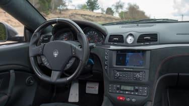 Maserati GranTurismo MC Stradale interior