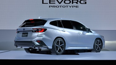 Subaru Levorg - rear static
