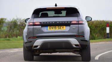 Range Rover Evoque rear cornering