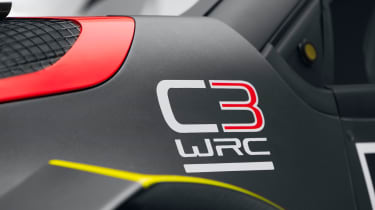 Citroen C3 WRC 2017 white background