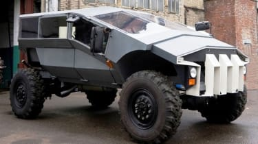 ZIL Russian Humvee army concept front side