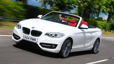 Used BMW 2 Series - front tracking