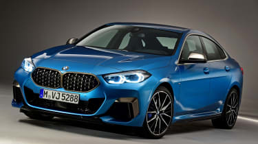 BMW 2 Series Gran Coupe - front 3/4 static studio