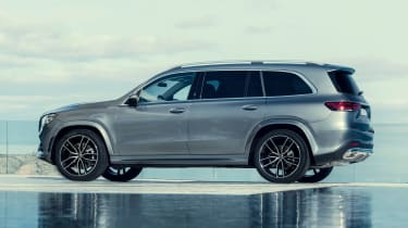 Mercedes GLS - grey rear static