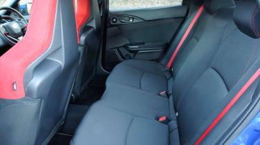 Honda Civic Type R - rear seats