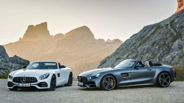 Mercedes-AMG GT C Roadster - twin