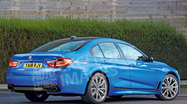 BMW 3 Series - rear (watermarked)