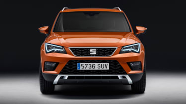 SEAT Ateca SUV 2016 - front