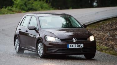 Volkswagen Golf 1.0 petrol - front cornering