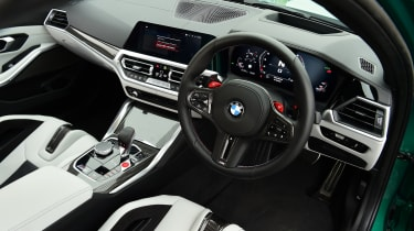 BMW M3 Competition - interior