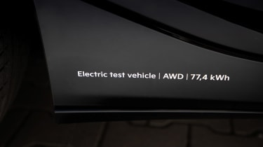 Kia EV6 - badging