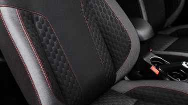 Ford ST-Line seat detail