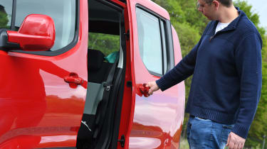 Citroen Berlingo XL Flair long termer - sliding door