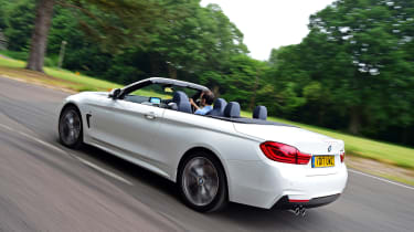 BMW 430i Convertible - rear action